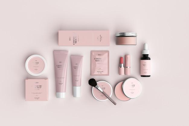 Maquetes de produtos cosméticos Psd Premium