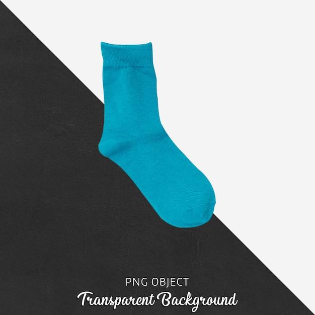 Meias simples azuis transparentes Psd Premium