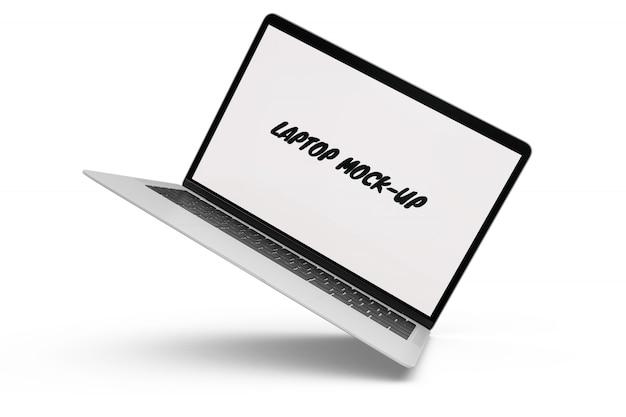 Mock-up de laptop isolado Psd grátis