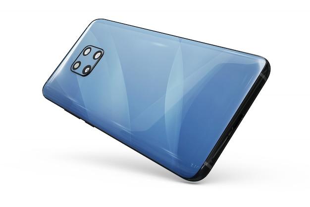 Mock-up de pele de smartphone isolado Psd grátis