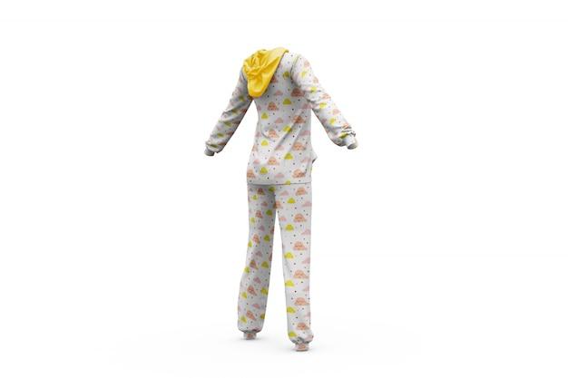 Mock-up de pijama isolado Psd grátis