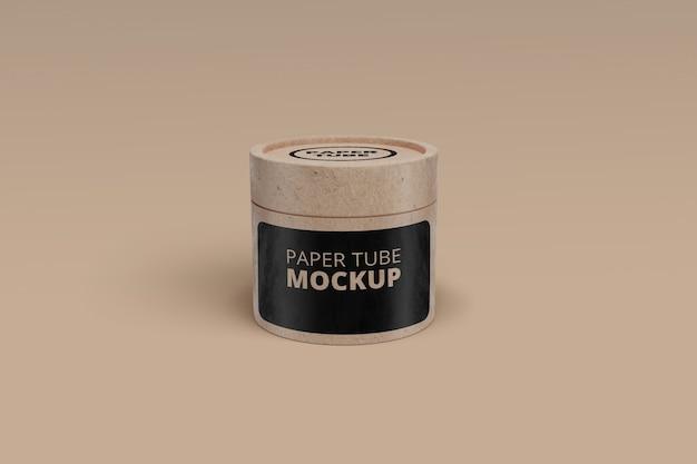Mockup tubo de papel psd Psd Premium
