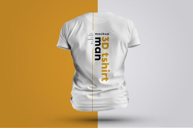 Mockups t-shirts homem 3d. Psd Premium