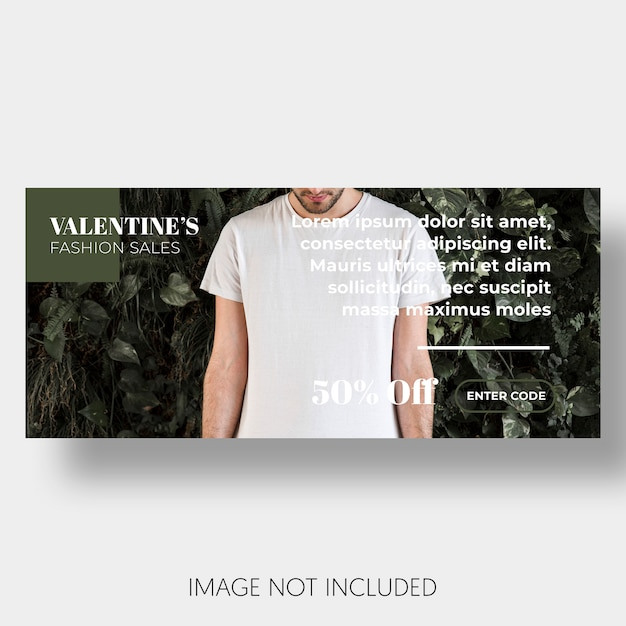 Modelo de banner vendas dia dos namorados Psd grátis