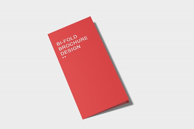 Modelo de brochura com dobra dupla Psd Premium