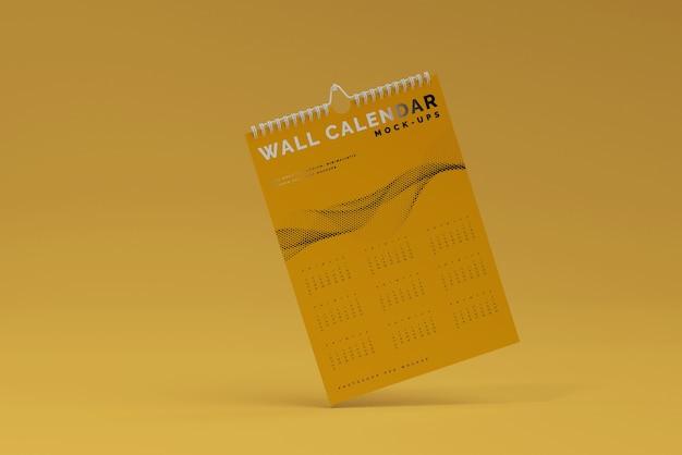 Modelo de calendário de parede vertical Psd grátis