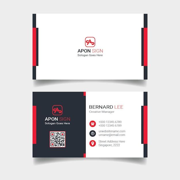 Modelo de cartão Psd Premium