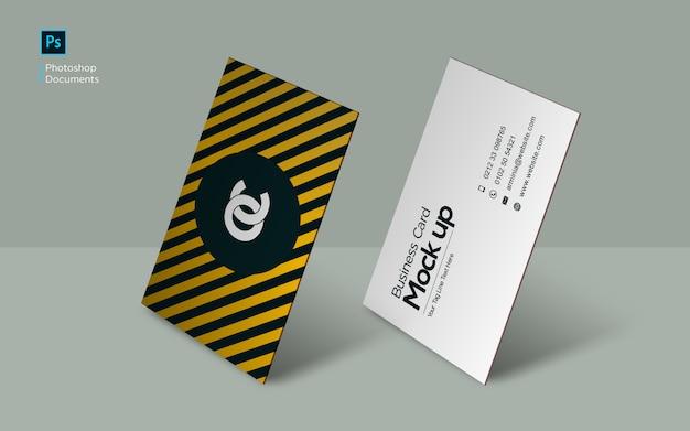 Modelo de design de maquete de pé de cartão Psd Premium