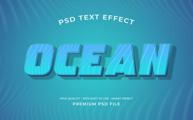 Modelo de efeito de texto retrô Psd Premium