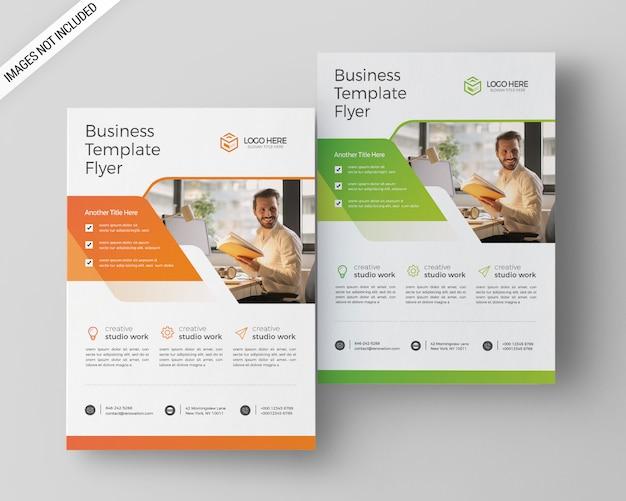Modelo de folheto - negócios a4 Psd Premium