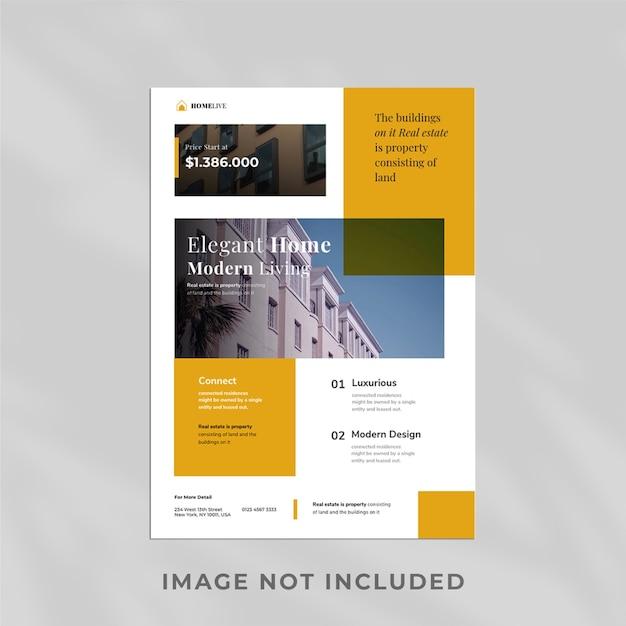 Modelo de imobiliária projetado profissionalmente Psd Premium