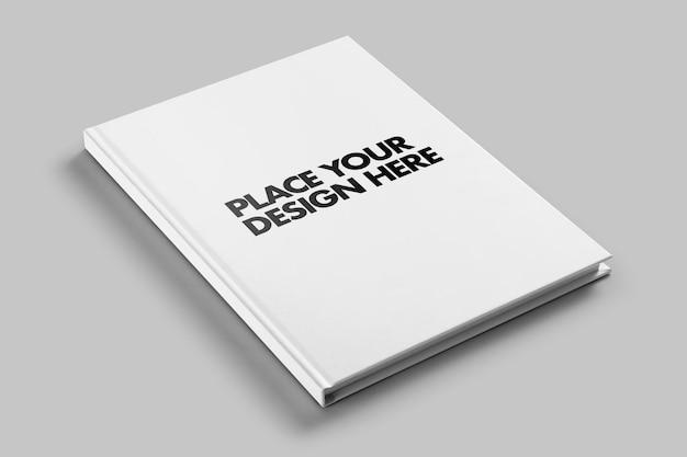 Modelo de maquete de livro de capa dura revista Psd Premium
