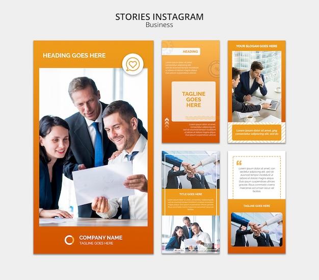 Modelo de mídia social de negócios Psd grátis