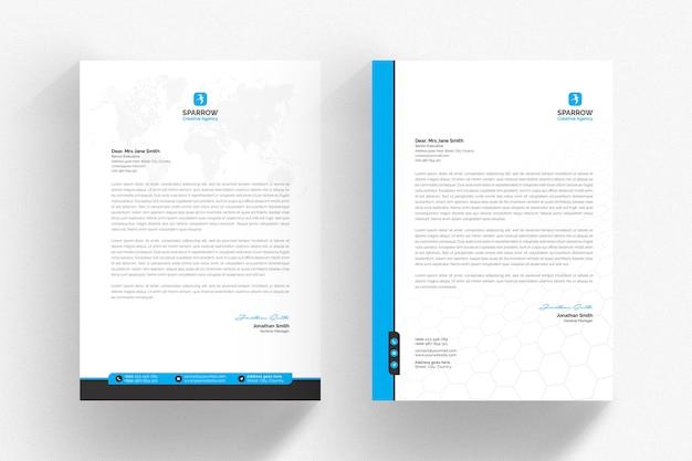 Modelo de papel timbrado - corporativo Psd Premium