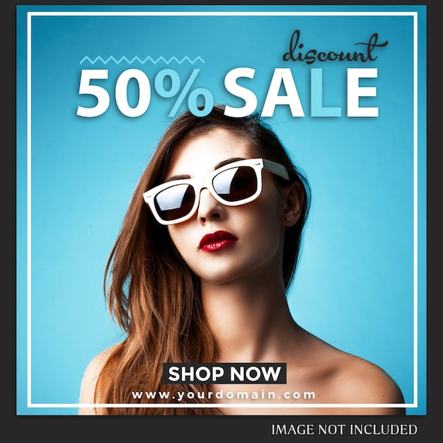 Modelo de postagem de instagram de venda Psd Premium