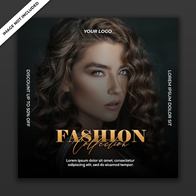Modelo de postagem de mídia social instagram fashion sale collection Psd Premium