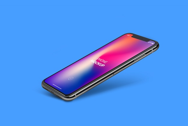 O telefone mock up Psd Premium