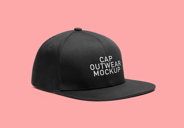 Outwear-cap-mockup Psd Premium