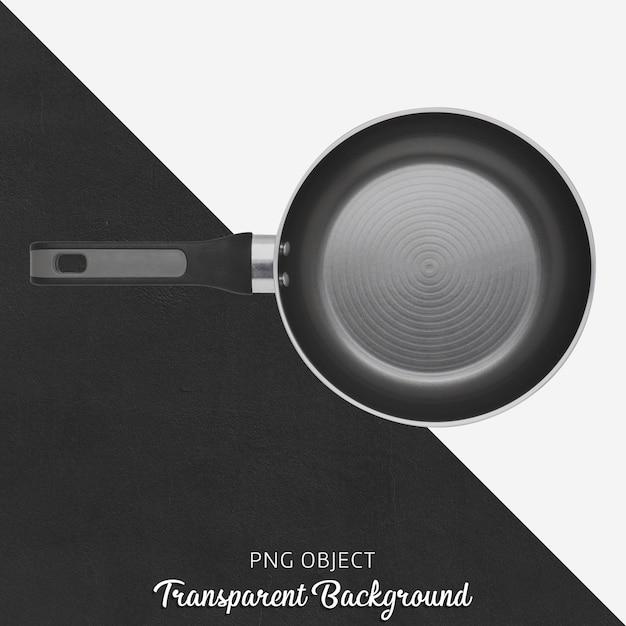 Panela preta em fundo transparente Psd Premium