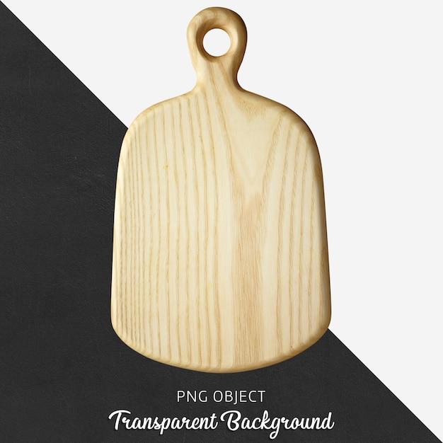 Placa de corte de madeira transparente ou placa de servir Psd Premium