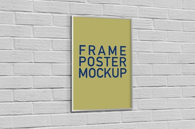 Poster-maquete Psd Premium