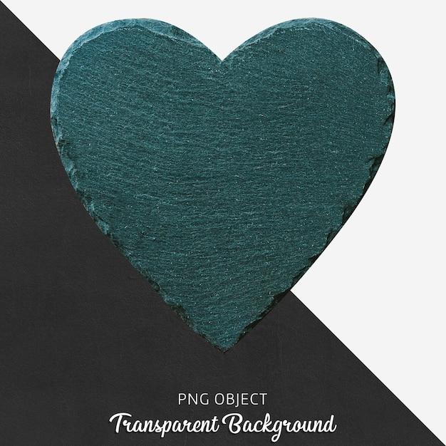 Prato de servir coração transparente Psd Premium