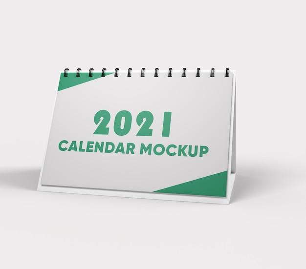 Projeto de maquete de calendário isolado Psd Premium