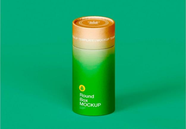 Projeto de maquete de tubo kraft Psd Premium