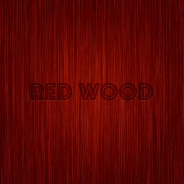 Projeto do fundo da madeira vermelha Psd grátis