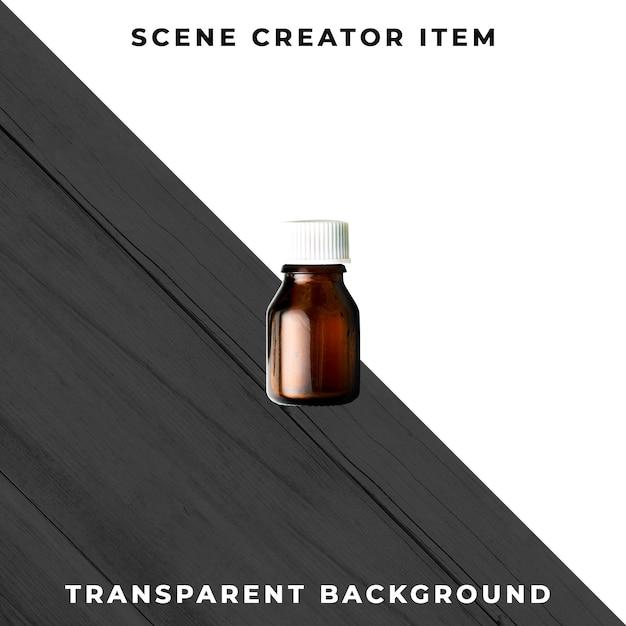 Psd transparente de cosméticos Psd Premium