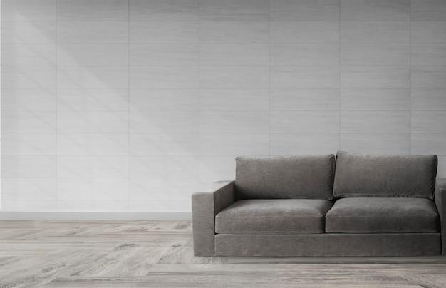 Sofá em um quarto moderno Psd grátis