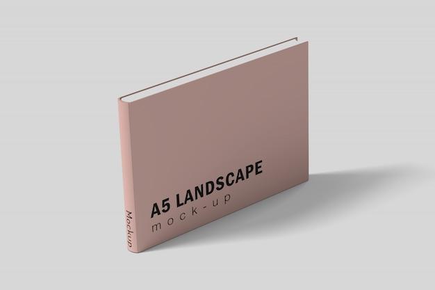 Stand paisagem livro Psd Premium