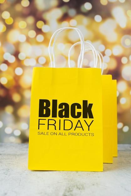 Super promoções para o dia de sexta-feira negra Psd grátis