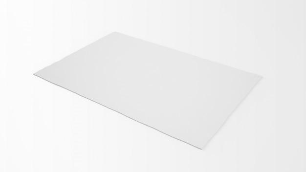 Tapete branco realista Psd grátis
