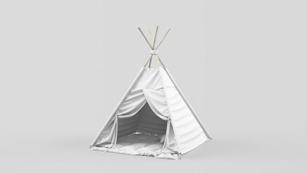 Tenda ou tenda indiana para crianças Psd grátis