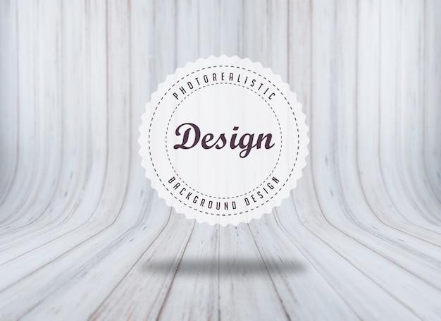 Textura de madeira realista Psd grátis
