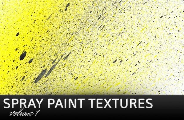 Texturas de pulverização Psd grátis
