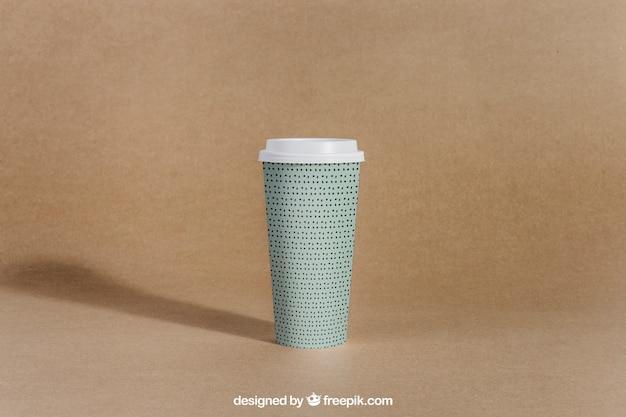 Tirar a xícara de café Psd grátis