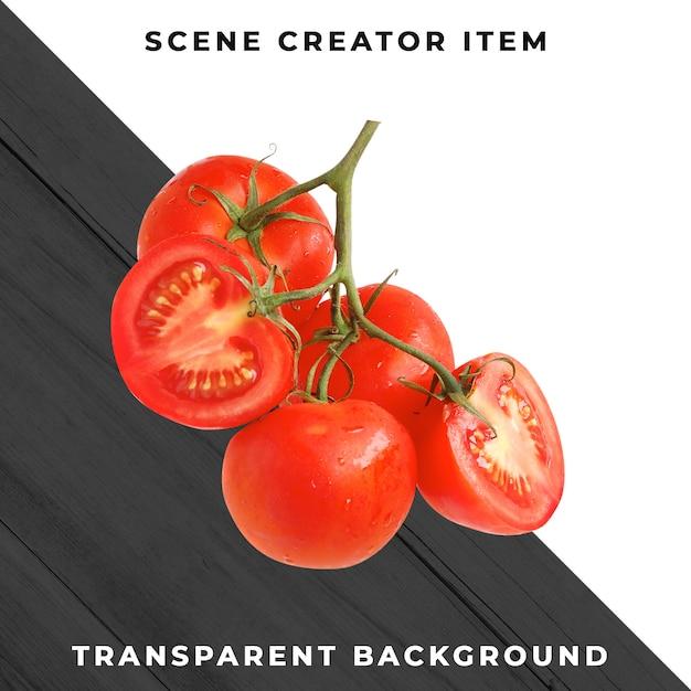 Tomate isolado com traçado de recorte. Psd Premium