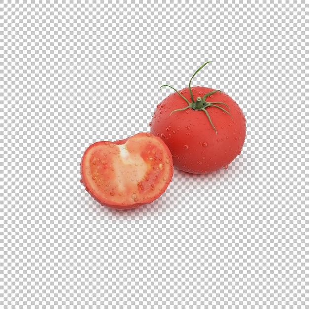 Tomates isométricos Psd Premium