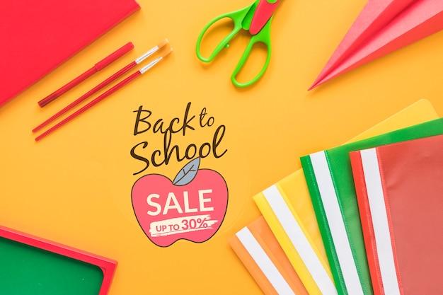 Voltar para a venda da escola até 30% de desconto Psd grátis