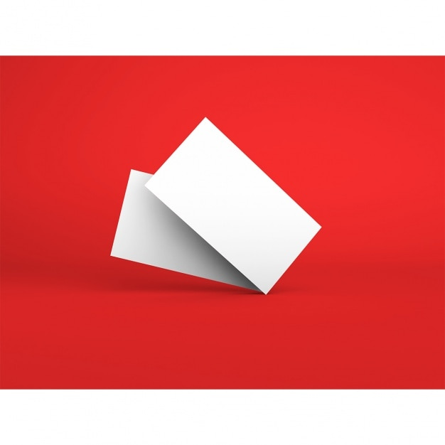 Cartes de visite modèle Psd gratuit