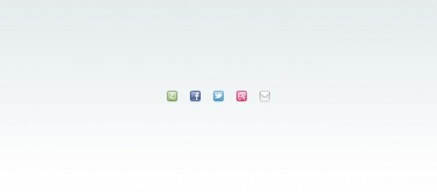 dribbble facebook twitter ic u00f4ne de courrier zerply