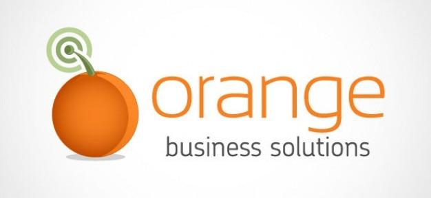 orange conception de logo d 39 entreprise t l charger psd gratuitement. Black Bedroom Furniture Sets. Home Design Ideas