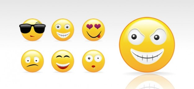 psd smileys cr u00e9ation kit