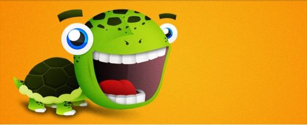 Cartone animato tartaruga scaricare psd gratis