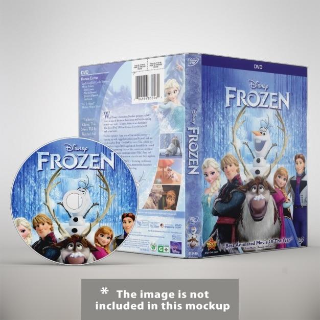 Dvd mock up di progettazione Psd Gratuite