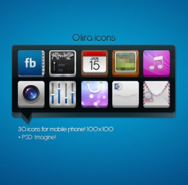 Icone per il telefono mobile scaricare psd gratis for Mobile telefono