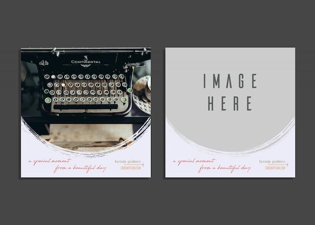 Charmant Kartenvorlage Photoshop Zeitgenössisch ...