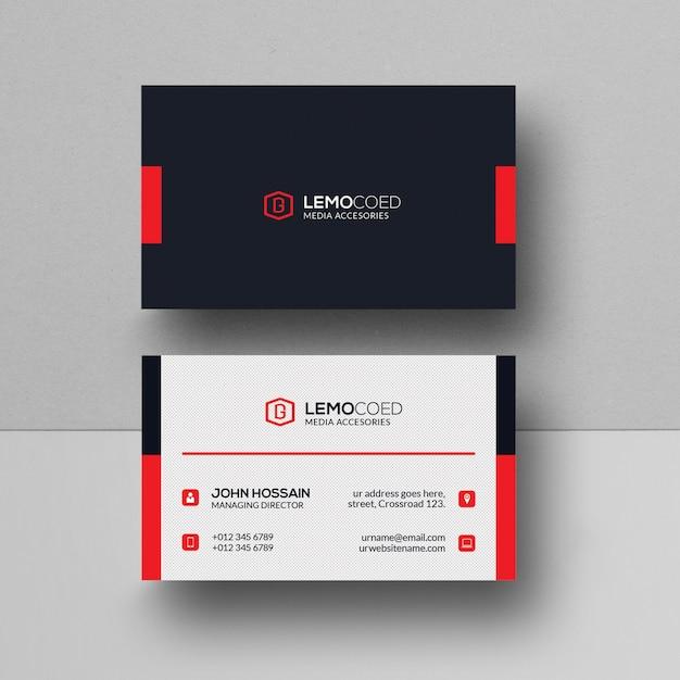 Kreative Visitenkarte Download Der Premium Psd